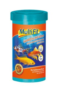 MultiFit haleledel aranyhalaknak 250ml