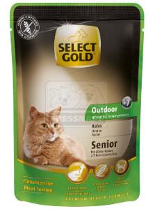 SELECT GOLD Senior Outdoor alutasakos csirke 85g
