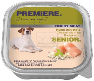 PREMIERE Finest Meat Senior tálkás kutyaeledel csirke 150g