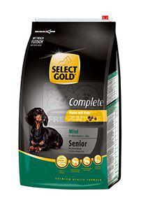 SELECT GOLD Complete Mini senior kutyaeledel csirke pulykával 4kg