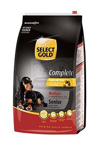 SELECT GOLD Complete Medium senior kutyaeledel csirke pulykával 4kg
