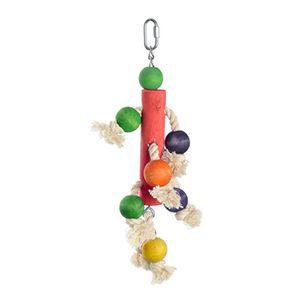 fit+fun madárjáték fa rúd, kötél, golyó 37,5 cm