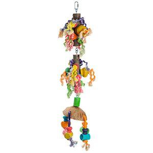 fit+fun madárjáték fa, kötél, kókusz 80 cm