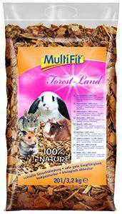 MultiFit kisemlős alom fenyő erdő 20 l