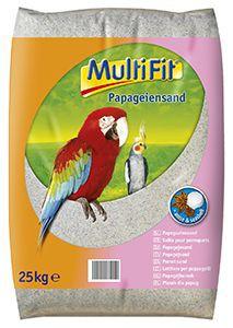 MultiFit papagáj homok 25 kg