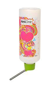AniOne kisállat itató szivecskés 1000 ml