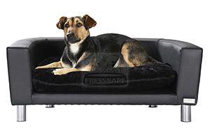 MORE FOR szófa kutyáknak fekete 73x52x28 cm