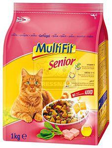 MultiFit senior cica szárazeledel 1kg