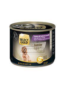 SELECT GOLD junior kutyakonzerv bárány+lazac+burgonya 200g