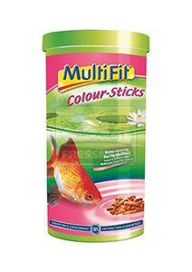 MultiFit színfokozó pálcikás haleledel 1L