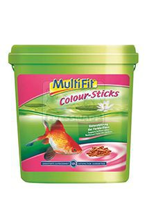 MultiFit színfokozó pálcikás haleledel 5L