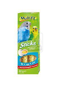 MultiFit Sticks törpepapajájoknak tojásos 2x30g
