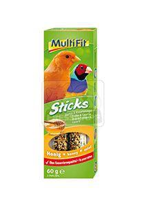 MultiFit Sticks kanáriknak és egzotikus madaraknak mézes 2x30g