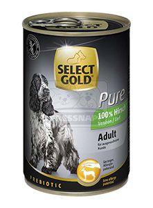 SELECT GOLD Pure kutyakonzerv szarvas 400g