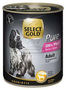 SELECT GOLD Pure kutyakonzerv ló 800g