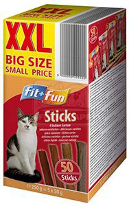 fit+fun sticks multipack 250g