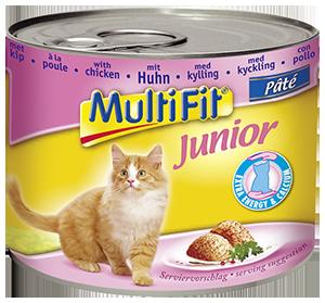 MultiFit junior cicakonzerv csirkés 195g