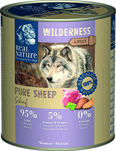 Real Nature Wilderness Pure kutyakonzerv birka 800g