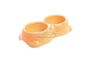 AniOne etetőtál műanyag narancssárga 2x 330ml