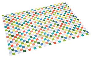 fit+fun Kutyatakaró színes kockás 100x150 cm