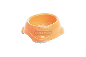 AniOne etetőtál műanyag narancssárga 315ml