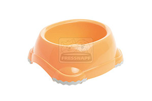 AniOne etetőtál műanyag narancssárga 1245ml