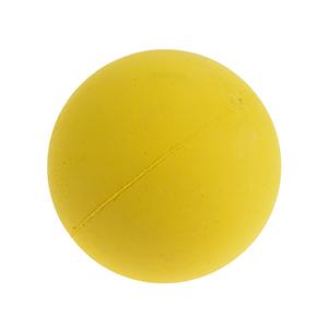 fit+fun kutyajáték labda szivacs sárga 7cm