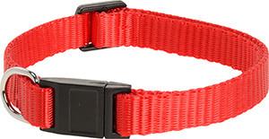 AniOne cica nyakörv nylon, piros 19-30 cm