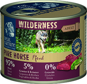 Real Nature Wilderness Pure kutyakonzerv ló 200g