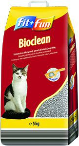 fit+fun Bioclean 5kg csomósodó alom