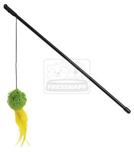 AniOne cicajáték plüss labda, toll 40 cm