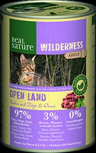 Real Nature Wilderness konzerv adult open land 400g