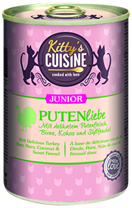 KITTY'S konzerv junior pulyka 400g