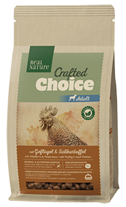 Real Nature Crafted Choice adult szárnyas 1kg