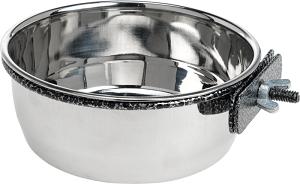 AniOne fém etető/itató forgózáras 600 ml