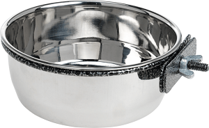 AniOne fém etető/itató forgózáras 900 ml