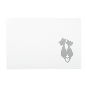 AniOne alátét cicasziluett 44x30 cm