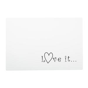 AniOne alátét Love it... 44x30 cm